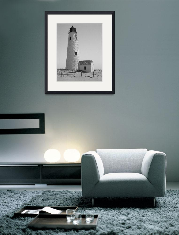 """Great Point Lighthouse Nantucket&quot  (2009) by MAGartworks"