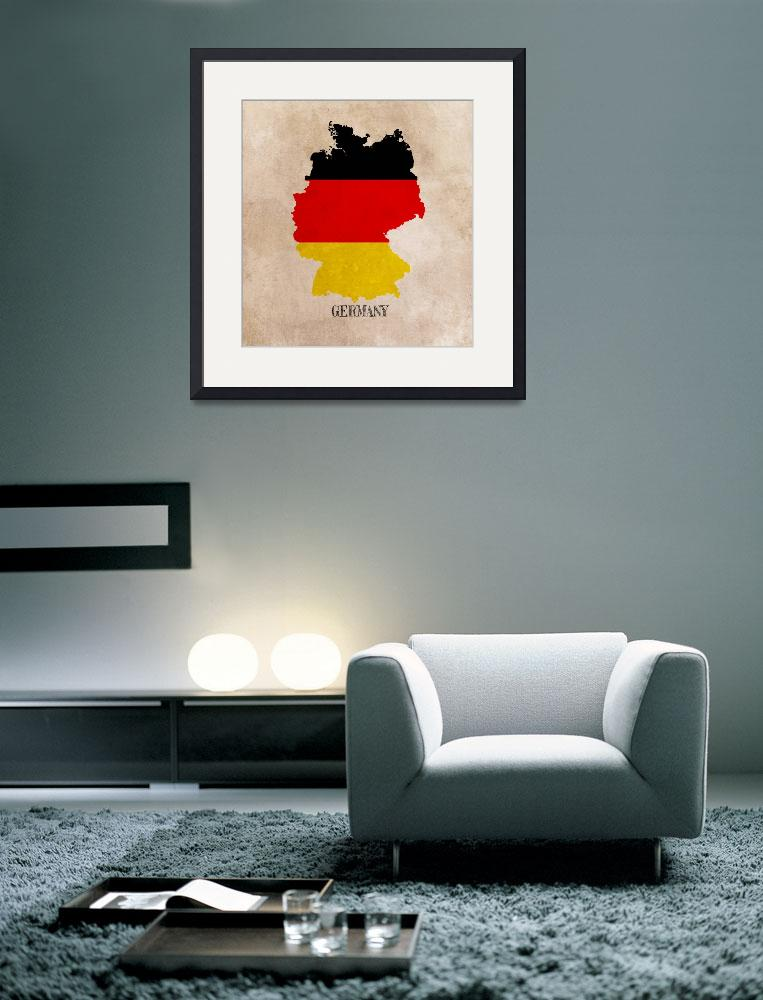"""Germany Map&quot  (2015) by JBJart"