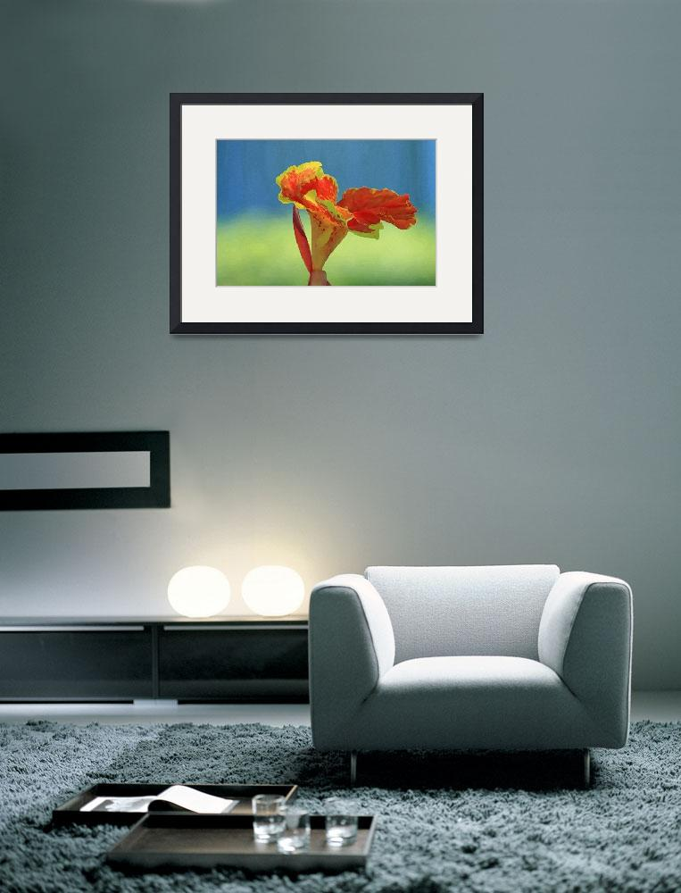 """Canna Lily Flower&quot  (2012) by KsWorldArt"