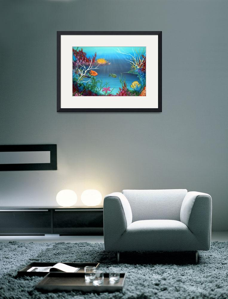 """Undersea Color Explosion&quot  (2008) by LegacyArts"