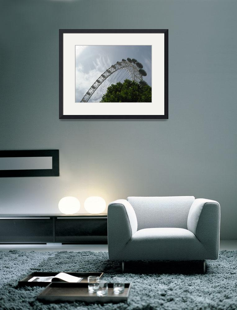 """London Eye&quot  (2009) by ValeriesGallery"