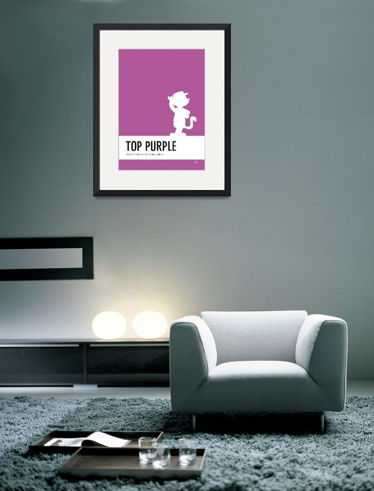 """No11 My Minimal Color Code poster Top Cat&quot  by Chungkong"
