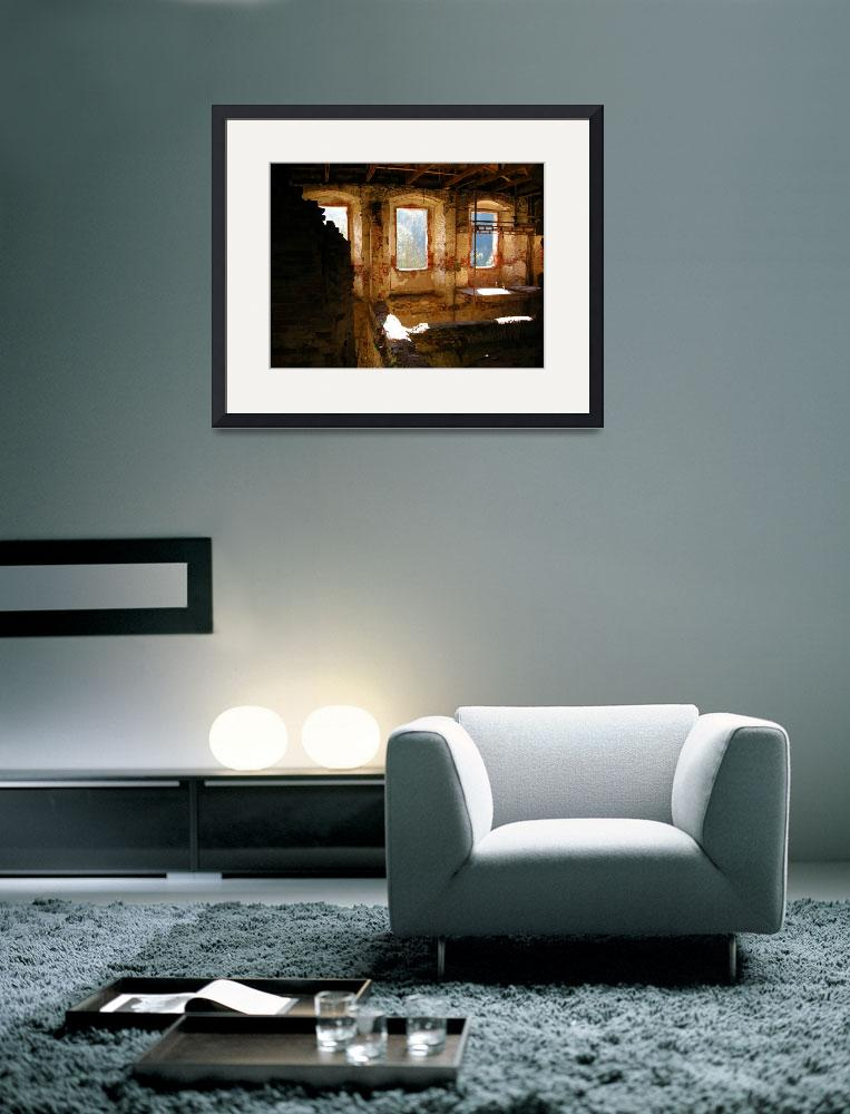 """Interior Shot of an Old Castle&quot  (2007) by Artsart"