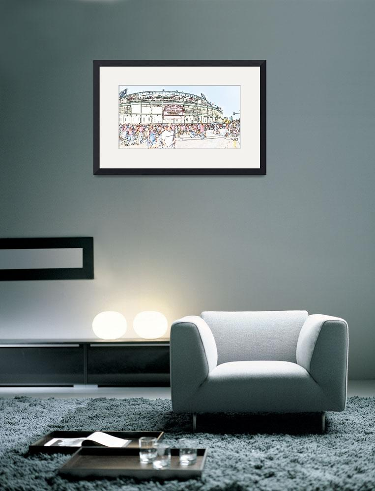 """wrigley field&quot  (2004) by studiobrian"
