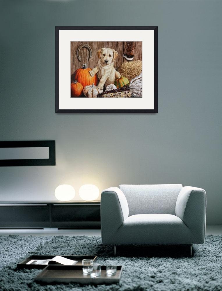 """Pumpkin Harvest Puppy&quot  (2014) by csforest"