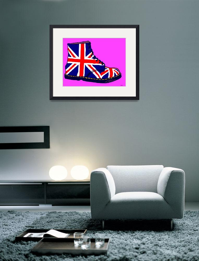 """Pop Art Union Jack Doc&quot  (2010) by asdesign"