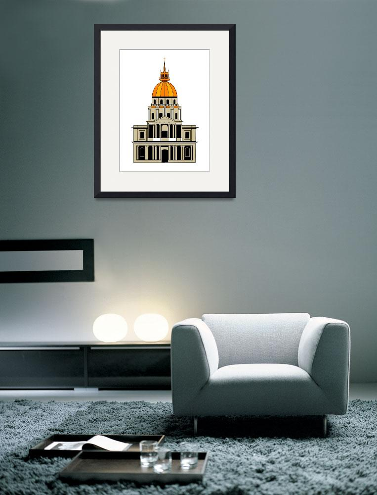 """Inspired by the Church at the Invalides&quot  by Lonvig"