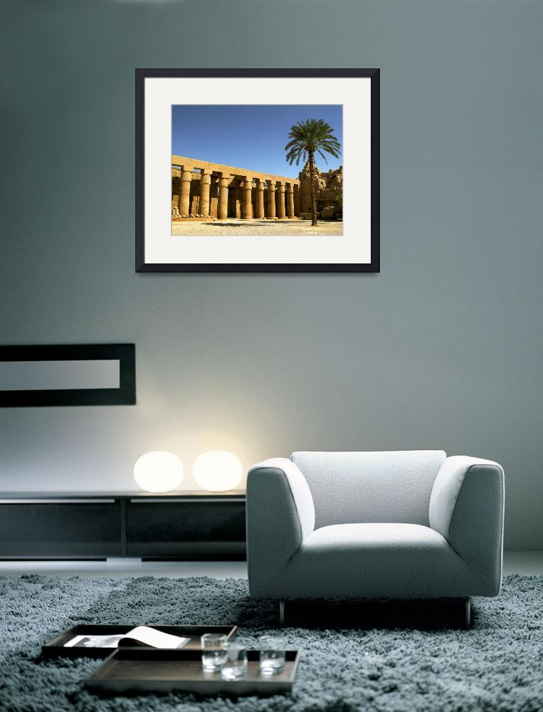 """Karnak temple&quot  (2007) by palinchak"