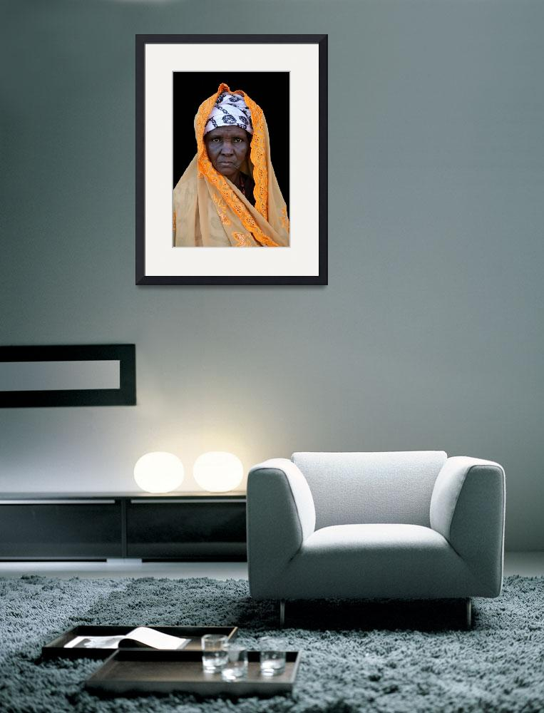 """Mauritanian Woman 2&quot  (2009) by AndreaMoorePhotography"