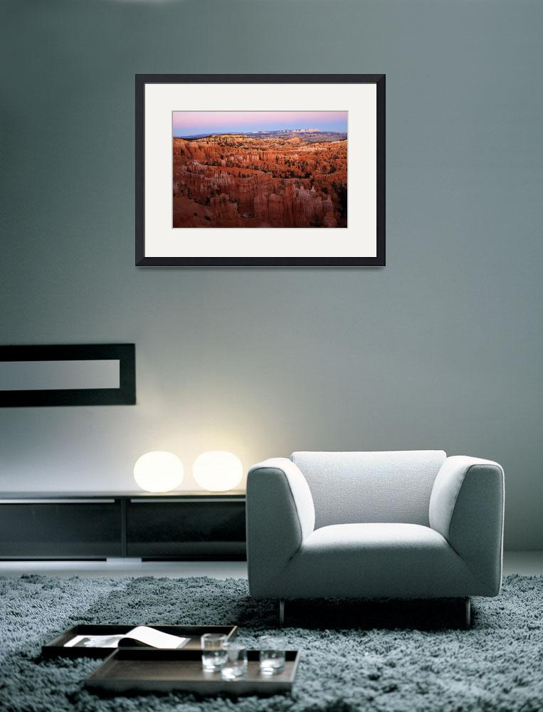 """Bryce Canyon Dusk&quot  (2009) by Dawsonimages"