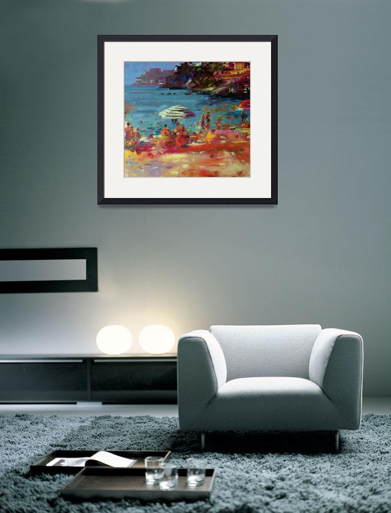 """Monaco Coast by Peter Graham&quot  by fineartmasters"