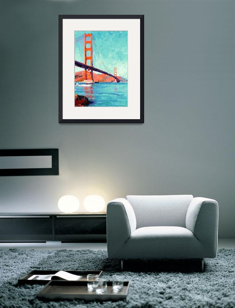 """Golden Gate Bridge San Francisco by Riccoboni&quot  (2006) by BeaconArtWorksCorporation"