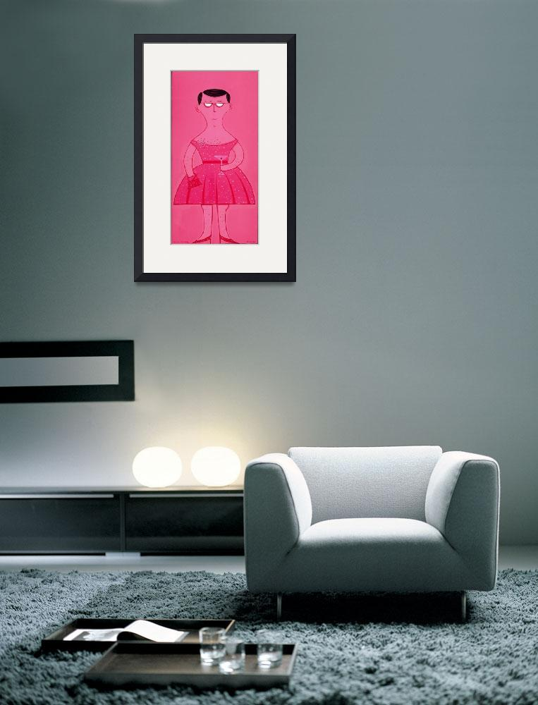 """In The Pink&quot  (2006) by AnnHuey"