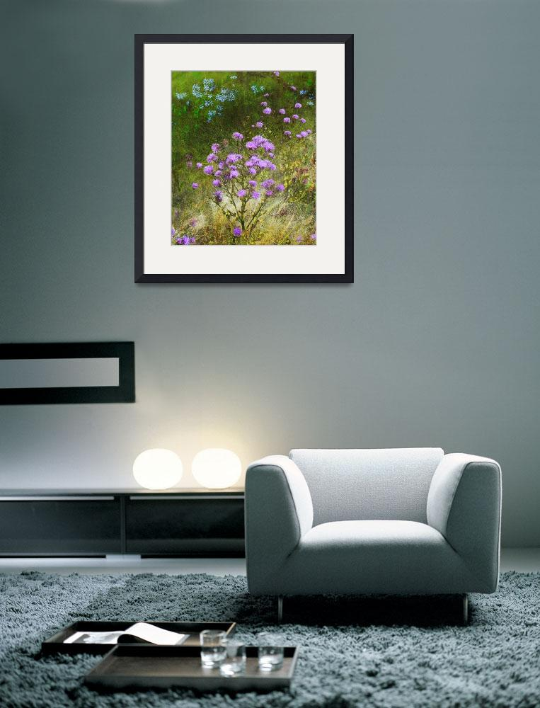 """knapweed and flowered meadow&quot  (2012) by rchristophervest"