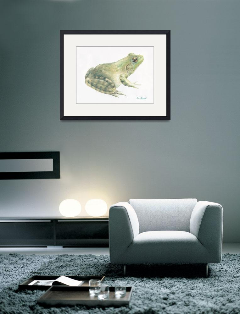 """bullfrog&quot  (2006) by LisaMclaughlin"