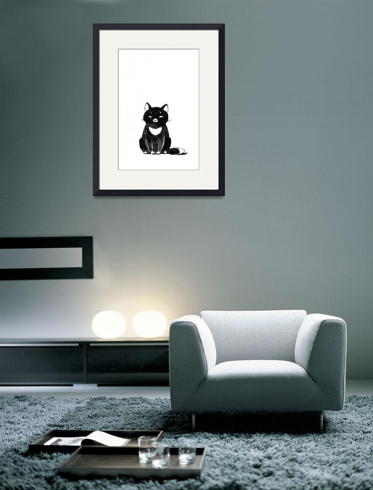 """Black Cat&quot  (2012) by freeminds"