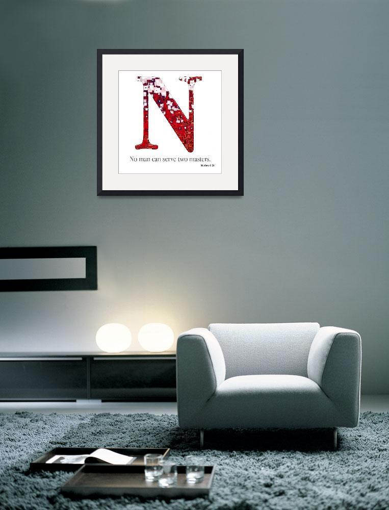 """N, the Christian Alphabet&quot  (2007) by MarkLawrence"
