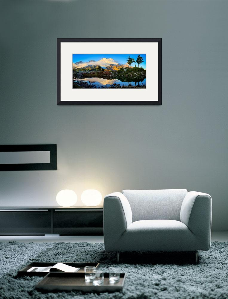 """Mount Baker Panorama&quot  (2009) by Inge-Johnsson"
