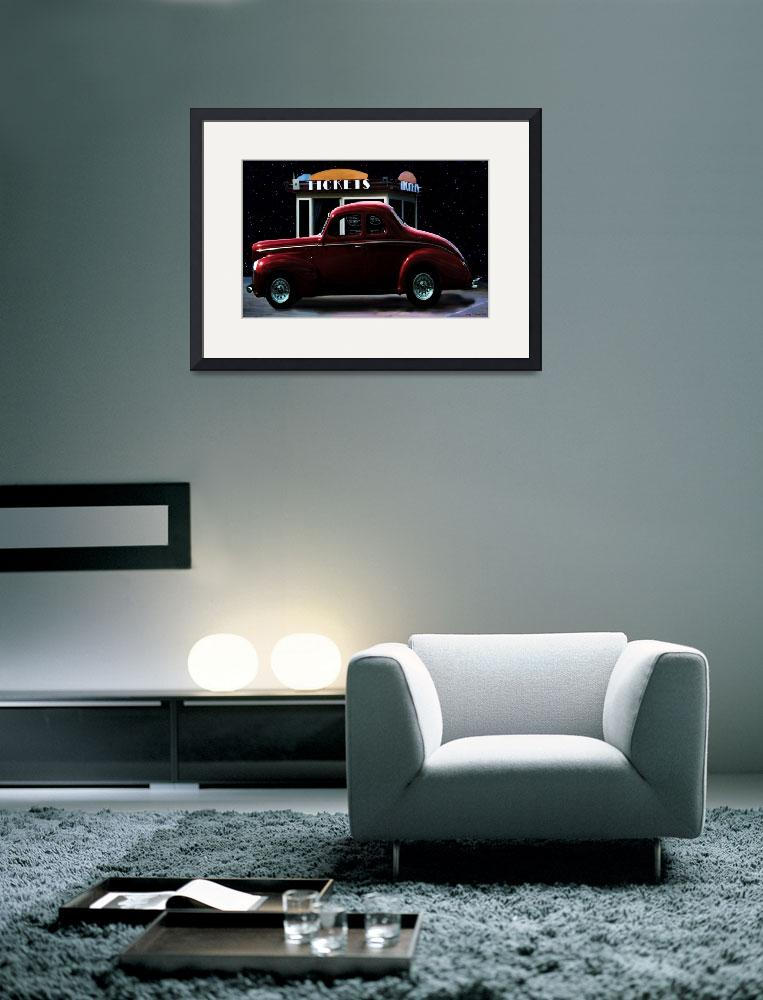 """Drive In Movie&quot  (2011) by artstoreroom"