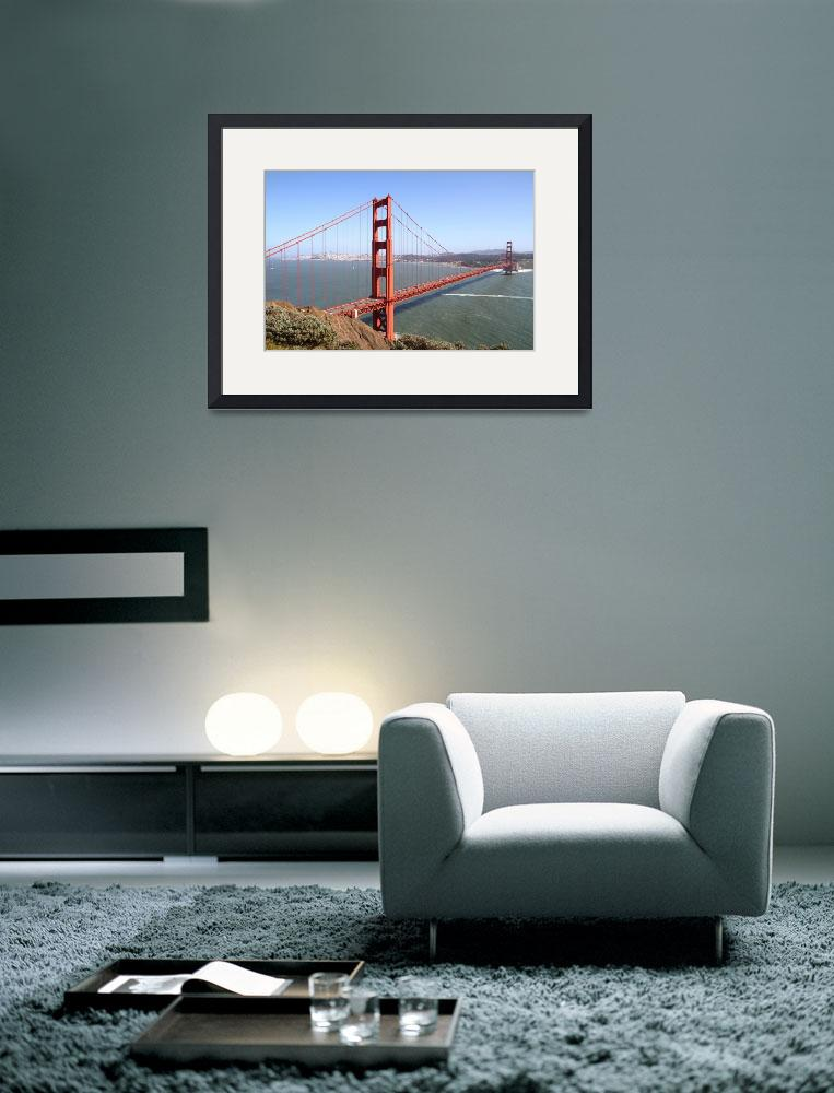 """The San Francisco Golden Gate Bridge 7D14507&quot  by wingsdomain"