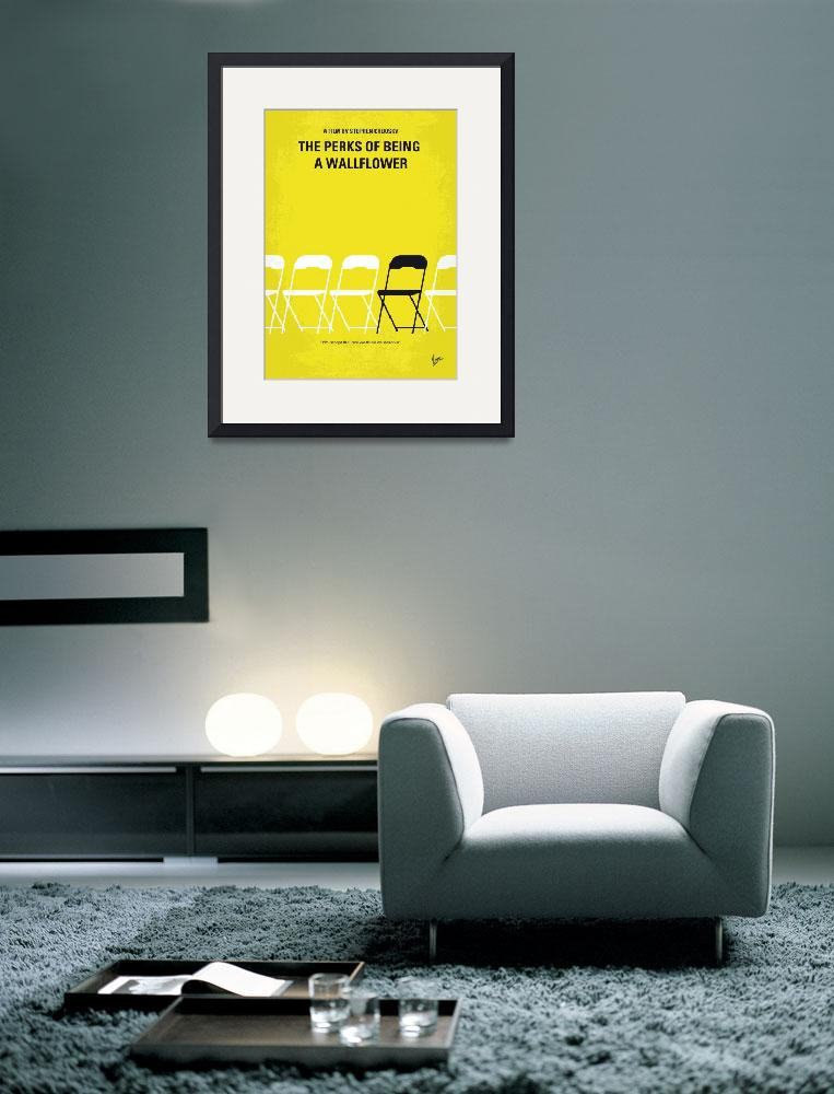 """No575 My Perks of Being a Wallflower minimal movie&quot  by Chungkong"