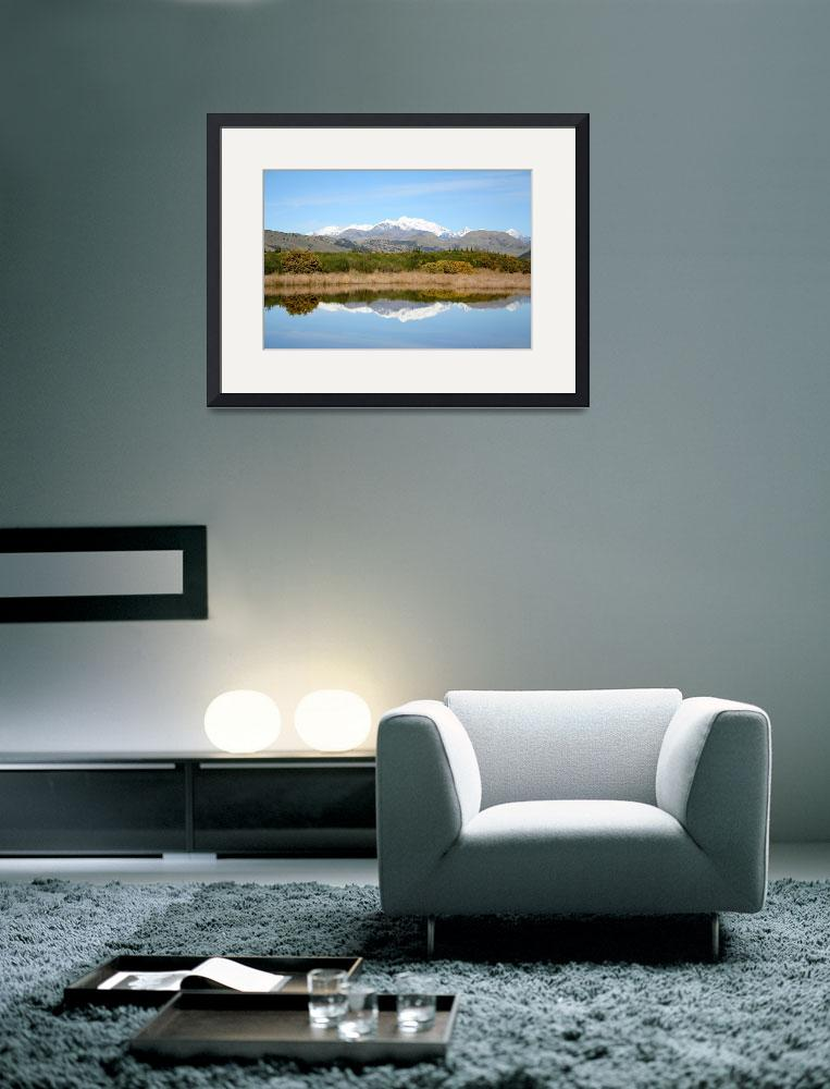 """View of Tapi - Awatere Valley in NZ&quot  (2006) by malcolmbowling"