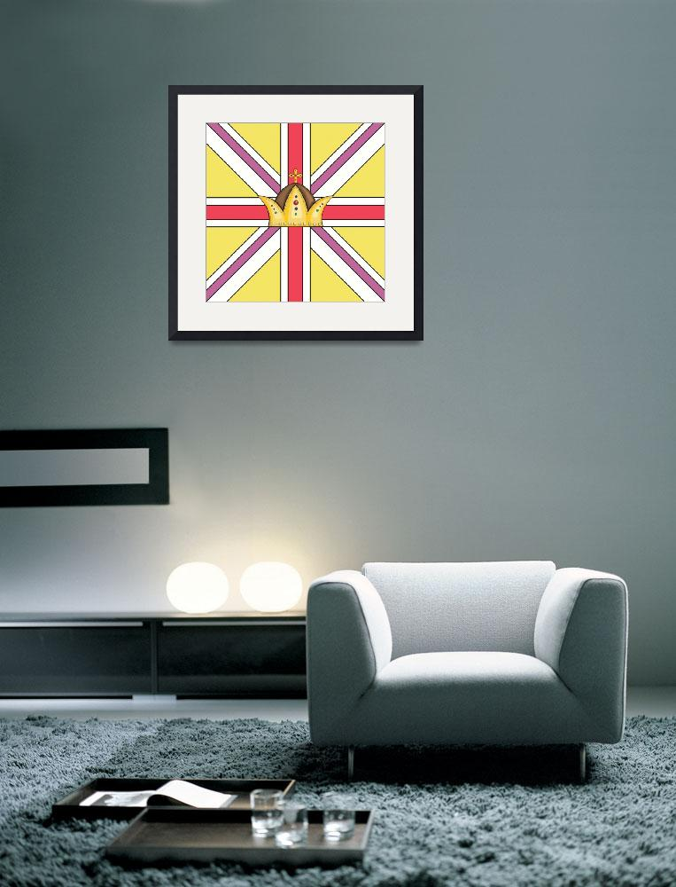 """PASTEL UNION JACK&quot  (2013) by marymase"