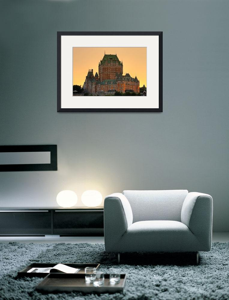 """Chateau Frontenac&quot  (2010) by scapevision"