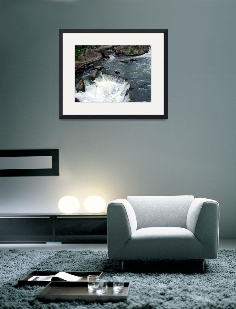 """Great Falls I&quot  (2007) by artlodesigns"