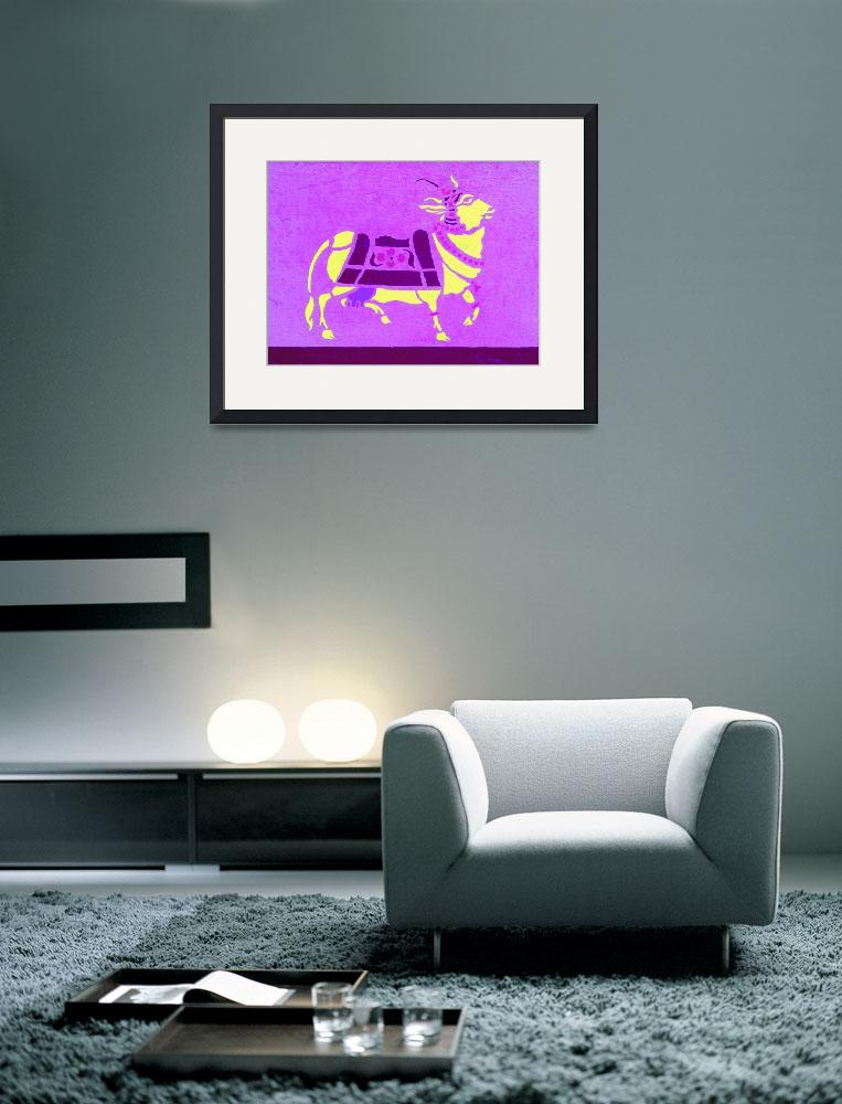 """Purple cow&quot  (2000) by SabrinaFradlina"