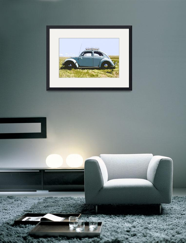 """VW Named Dieter in Field&quot  (2011) by studiojanney"
