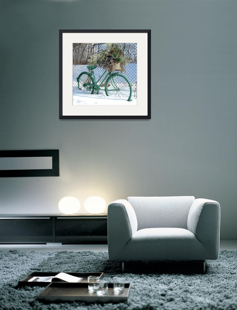 """Ornamental Bicycle 1&quot  (2011) by PatriciaHeise"