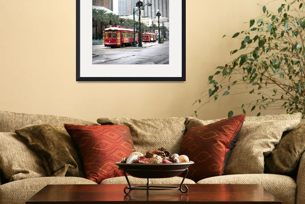 """Street Cars in New Orleans&quot  (2009) by aleksasha"