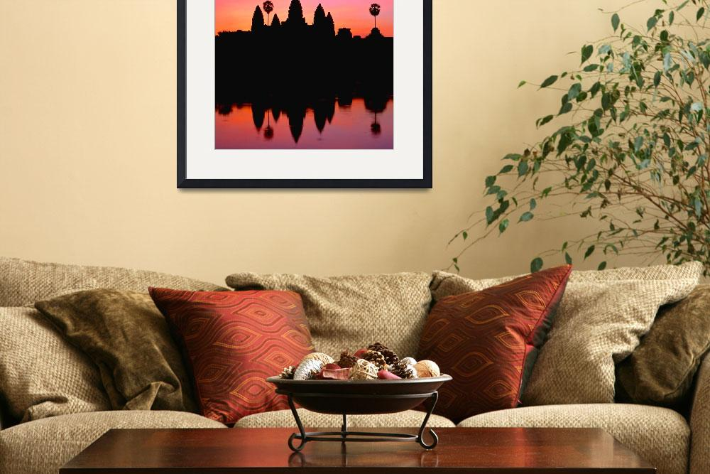 """Angkor Wat at sunrise&quot  (2000) by ingojez"