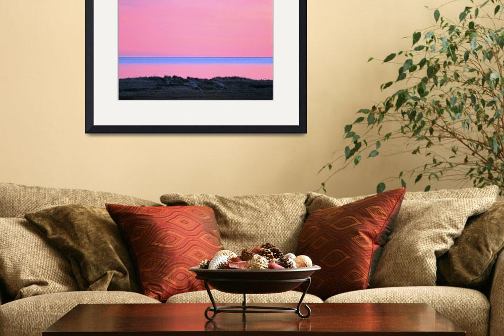 """Cape Cod Sunset & Dunes&quot  (2007) by ChrisSeufert"