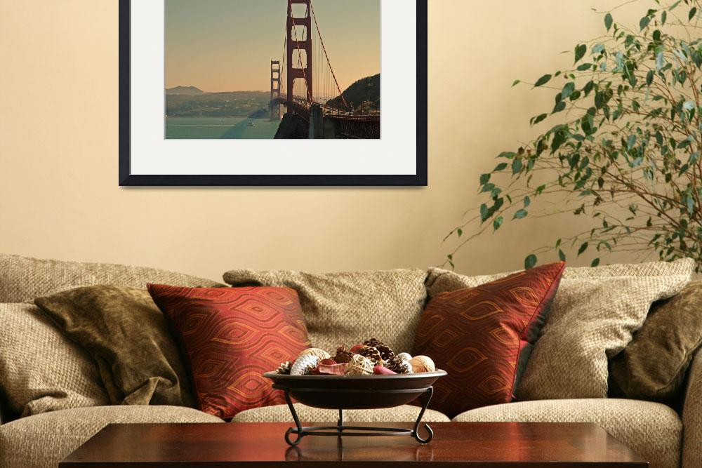 """Golden Gate Bridge Color&quot  by RobTerwilliger"
