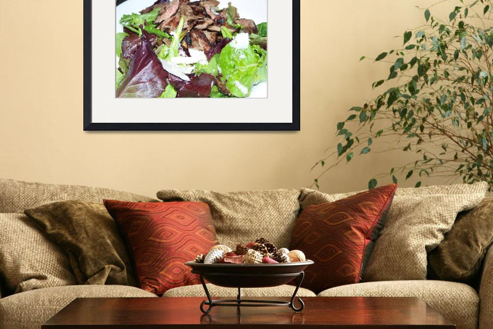 """Steak Salad&quot  (2011) by hmexpressions"