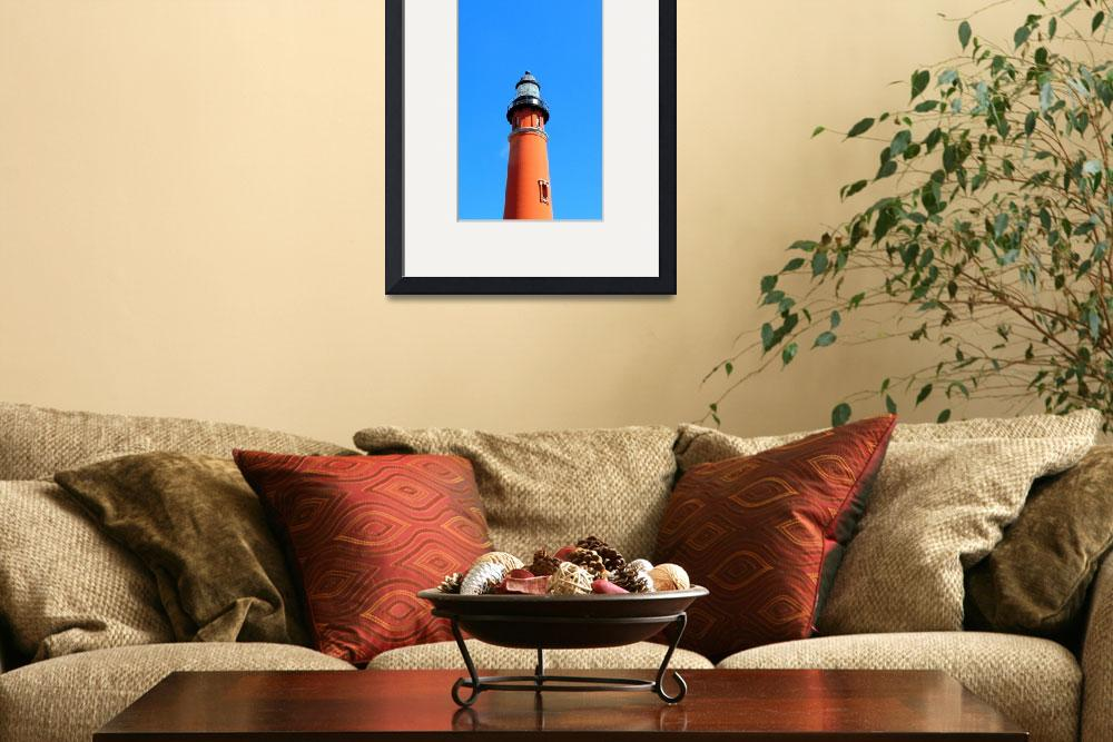"""Jet Over the Lighthouse&quot  (2009) by ChrisCrowley"
