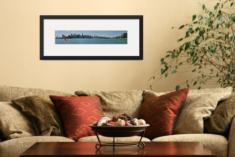 """Downtown of Vancouver from Burrard Inlet&quot  by bufo"
