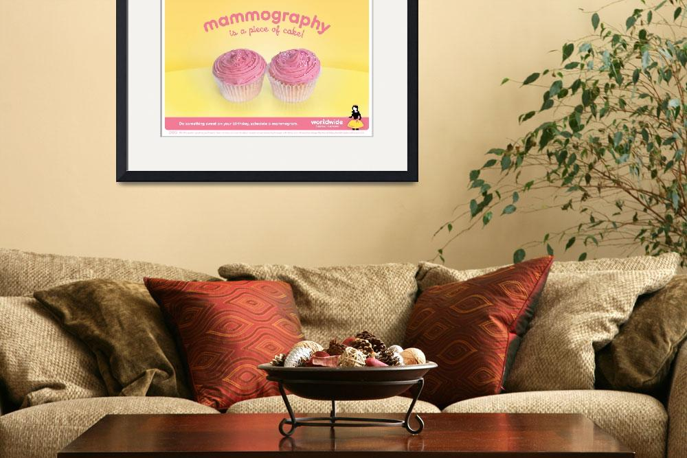"""Mammography is a piece of cake&quot  (2009) by lemonland"