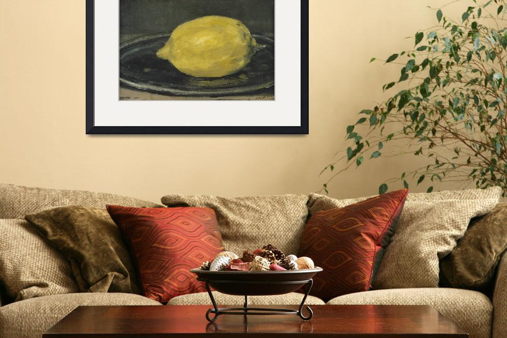 """The Lemon, 1880&quot  by fineartmasters"