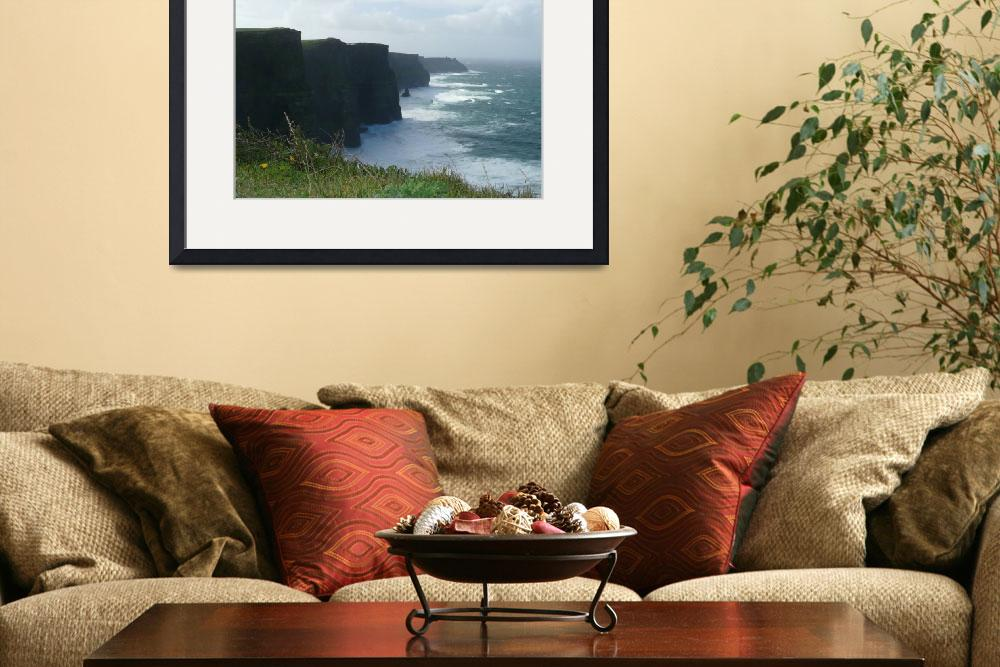 """Cliffs of Moher&quot  (2007) by Sawrah"