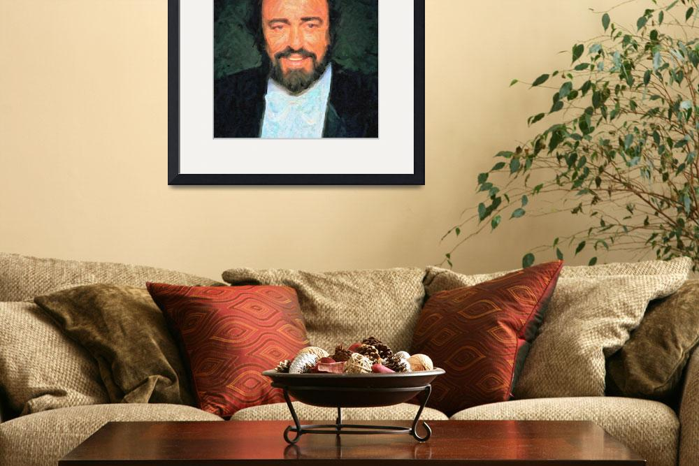 """Luciano Pavarotti aa&quot  by motionage"