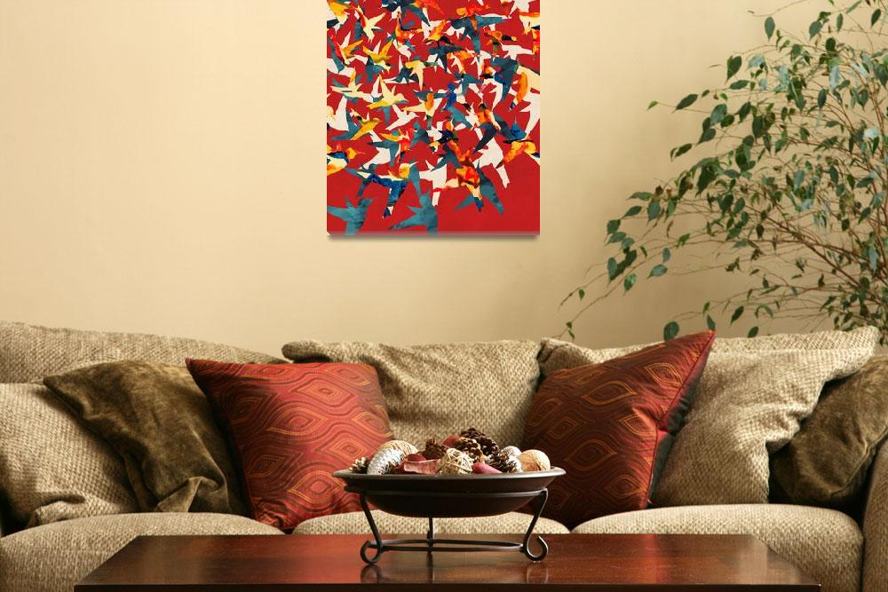 """Color Migration on Red&quot  by cozamia"