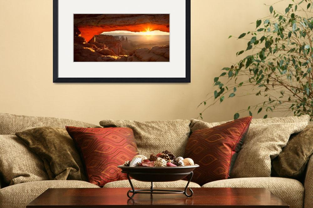 """Mesa Arch, The Canyonlands&quot  (2009) by pbk"