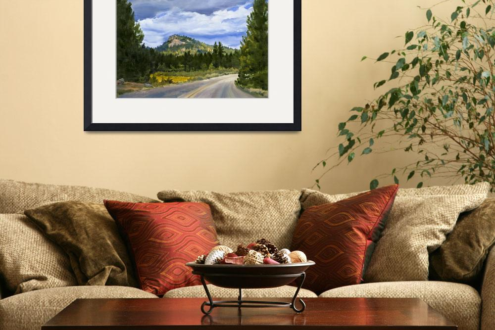 """Sequoia Mountain Road, California Wilderness&quot  (2007) by KeatingArt"