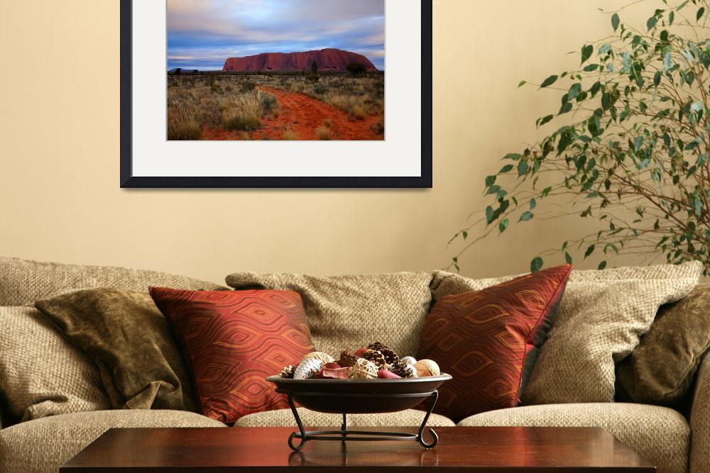"""Red Center Dawn&quot  (2010) by Dawsonimages"