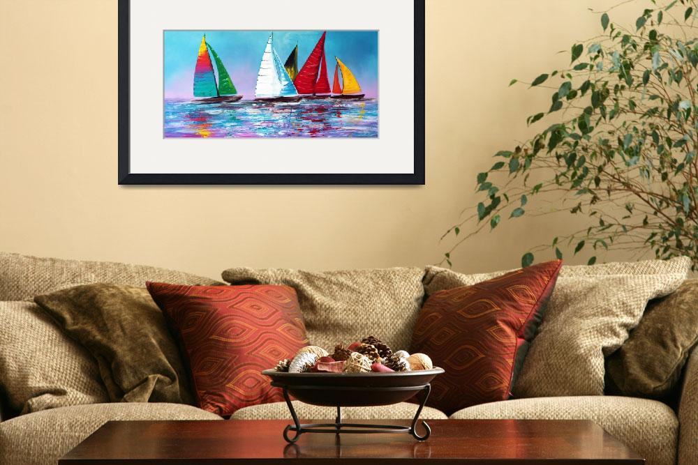 """Across The Sea&quot  (2015) by ArtPrints"
