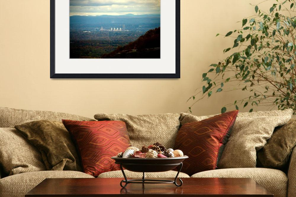 """Albany from Thacher Park&quot  (2011) by ValeriesGallery"