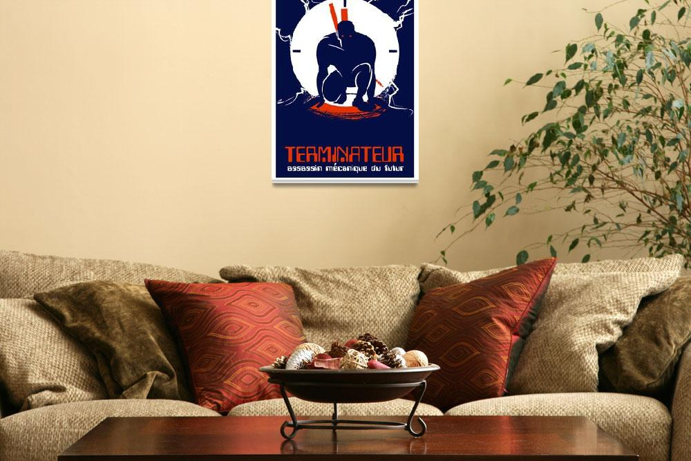 """TERMINATOR (french)&quot  (2009) by TravisPitts"